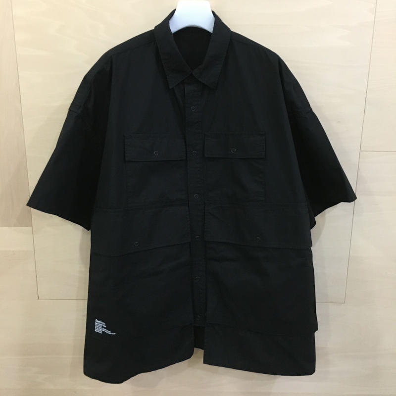 Fresh Service / FSW 19 SH02 / Five Pocket Shirt (BLACK)