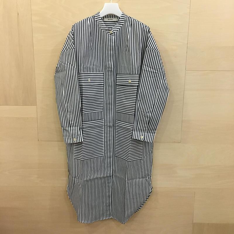 KLOKE / KLS2837 / Piel Stripe Dress (MID STRIPE INK)