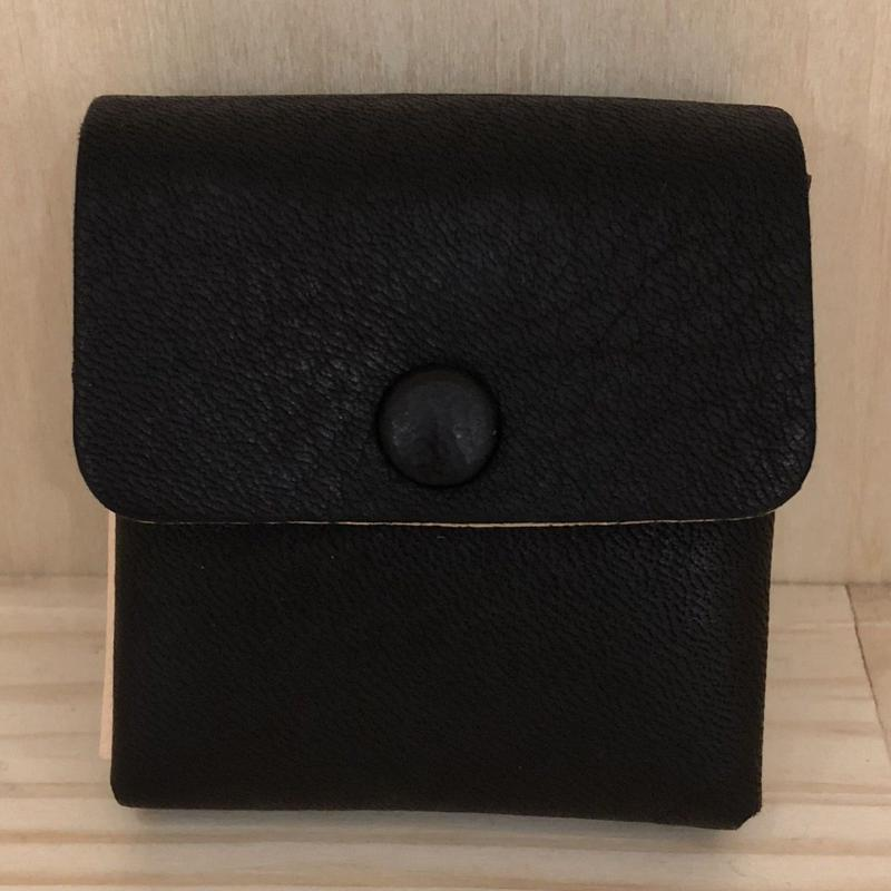 Aeta / DA16 / COIN CASE (BLACK/NATURAL)