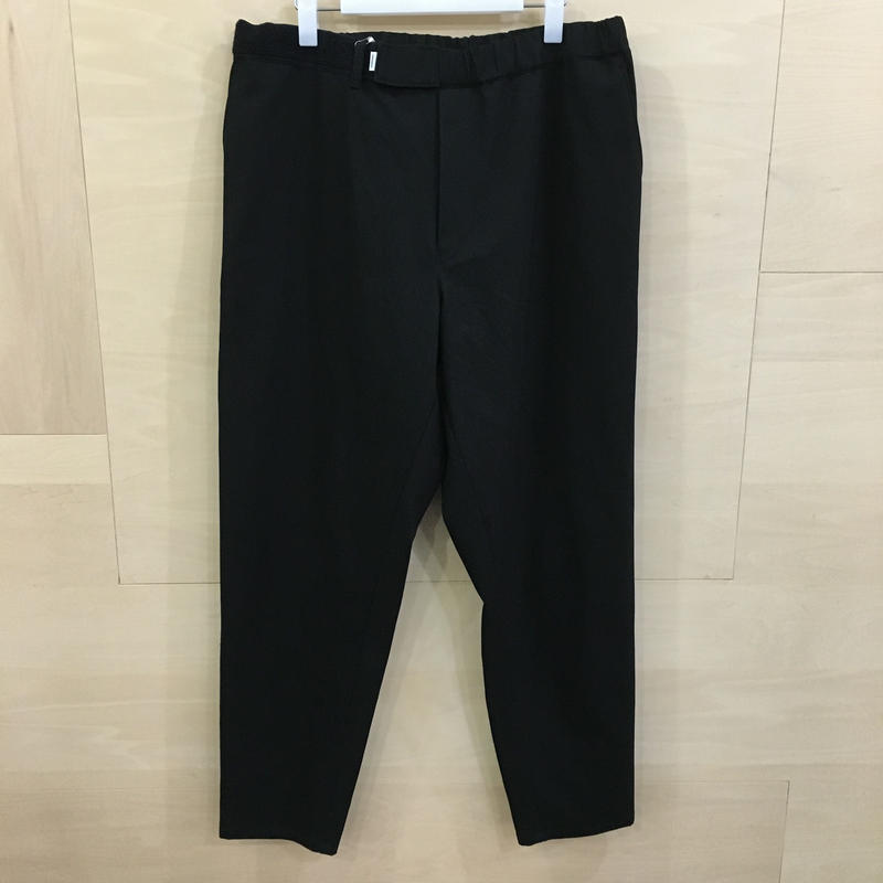 Graphpaper / GM192 40533 / COTTON TWILL Cook Pants (BLACK)