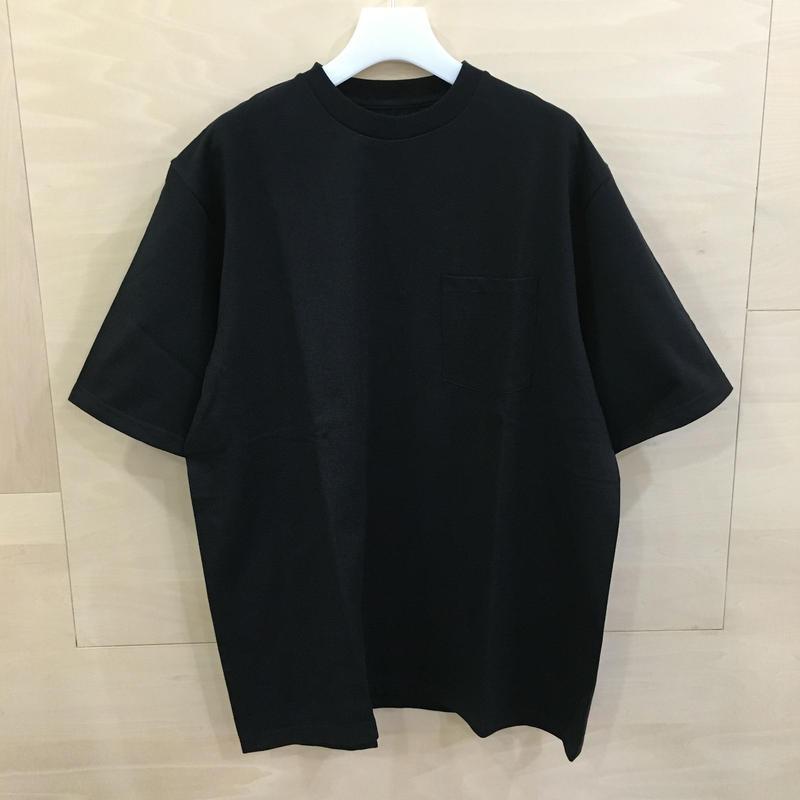 Graphpaper / GU192 70055 / S/S Pocket Tee (BLACK)