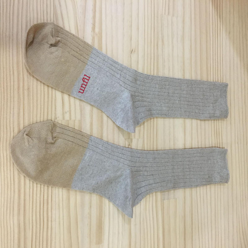 unfil / ONSP UW155 / Linen Thin Socks (NATURAL)