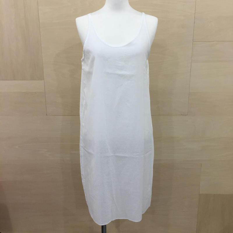 YAECA / 68709 / スリップドレス (WHITE)