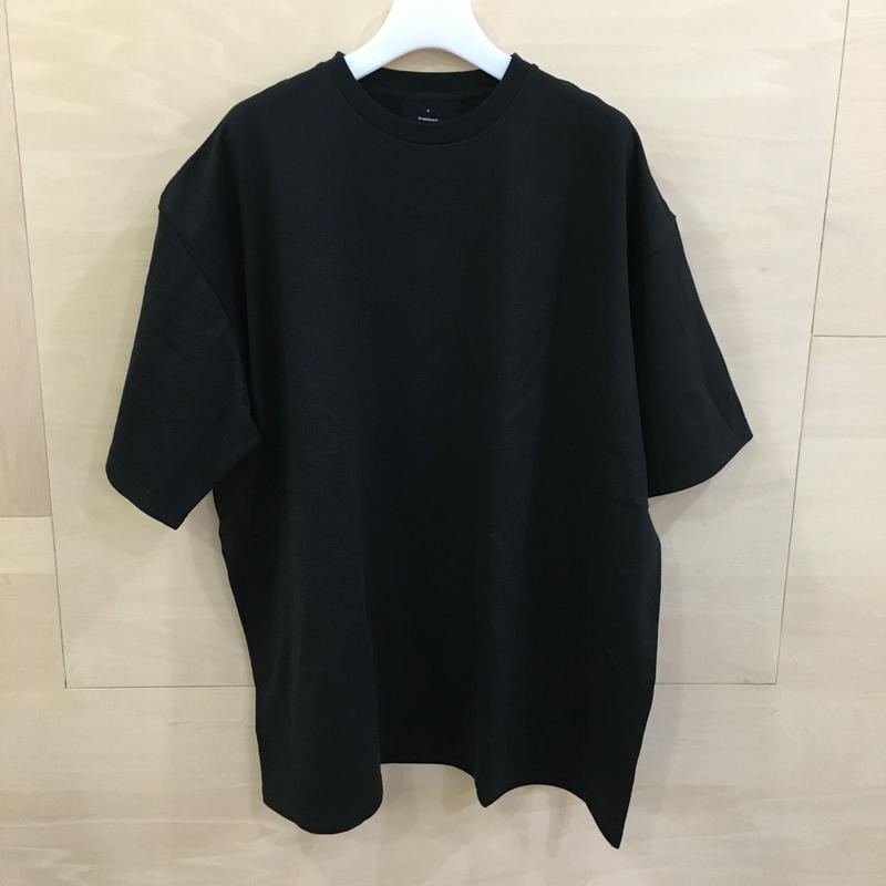 Graphpaper / GU192 70057 / S/S Oversized Tee (BLACK)