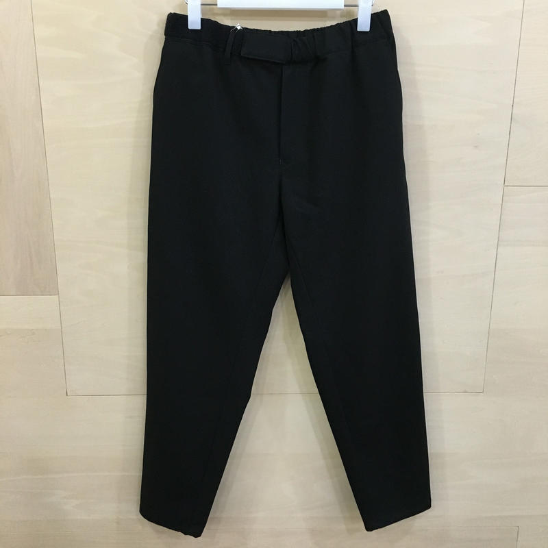 Graphpaper / GL192 40535 / COTTON TWILL Cook Pants (BLACK)