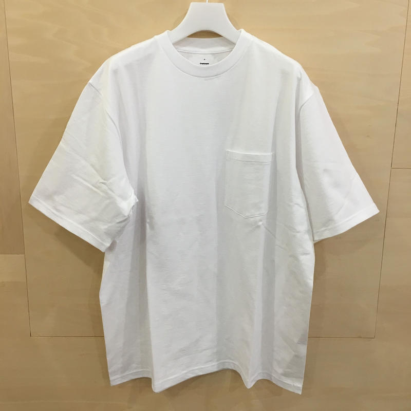 Graphpaper / GU192 70055 / S/S Pocket Tee (WHITE)