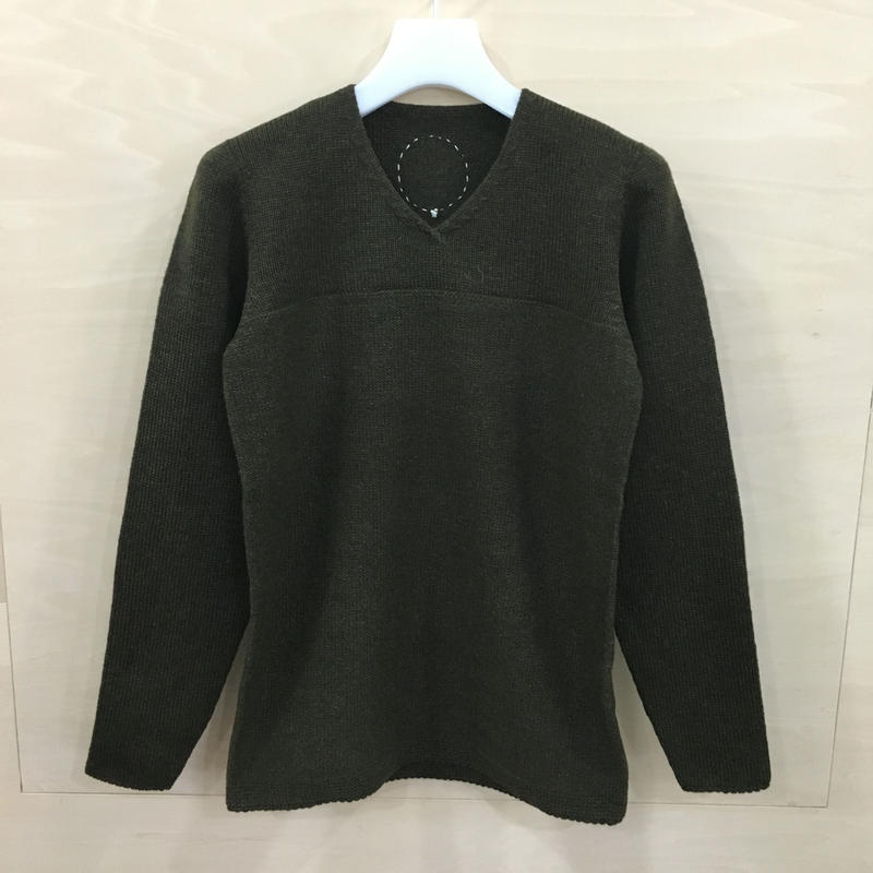 COSMIC WONDER / 08CW41016 / タスマニアウールのセーター (GREEN)