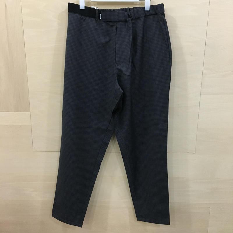 Graphpaper  / GM191 40047 / Loro Piana Cook Pants (CHARCOAL)