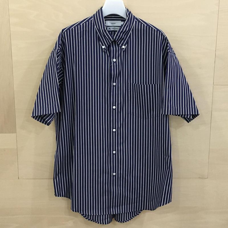 Graphpaper / GM192 50034B / THOMAS MASON S/S B.D Box Shirt (NAVY ST)