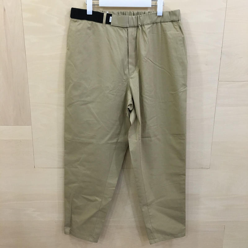 Graphpaper / GM192 40528 / STEVENSONS Cook Pants (BEIGE)