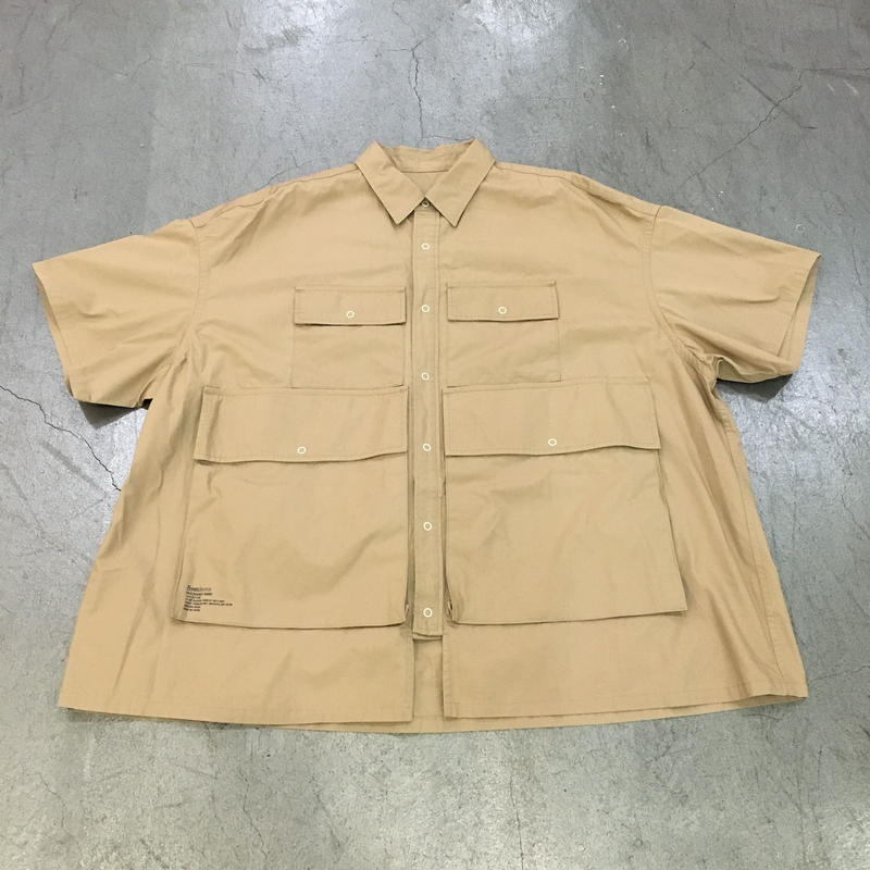 Fresh Service / FSW 19 SH02 / Five Pocket Shirt (BEIGE)