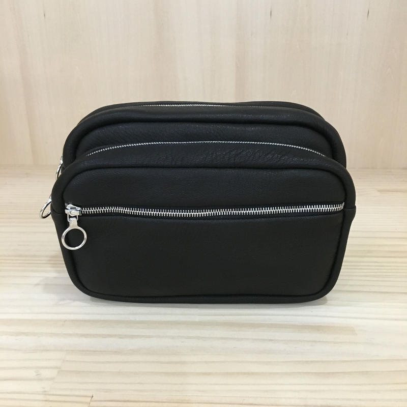 Aeta / DA27 / DEER BELT POUCH (S) (BLACK)