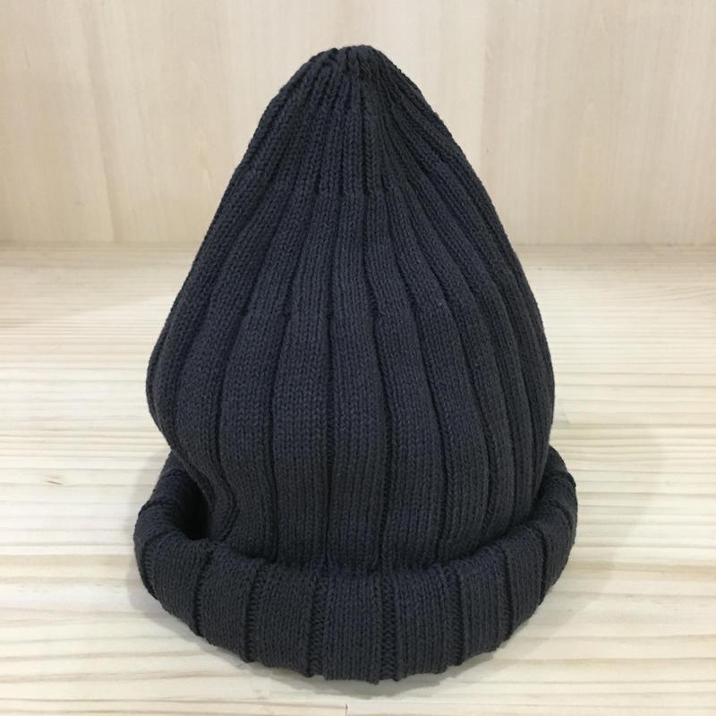 unfil / ONSP UU001 / Ribbed Knit Beanie (EBONY)