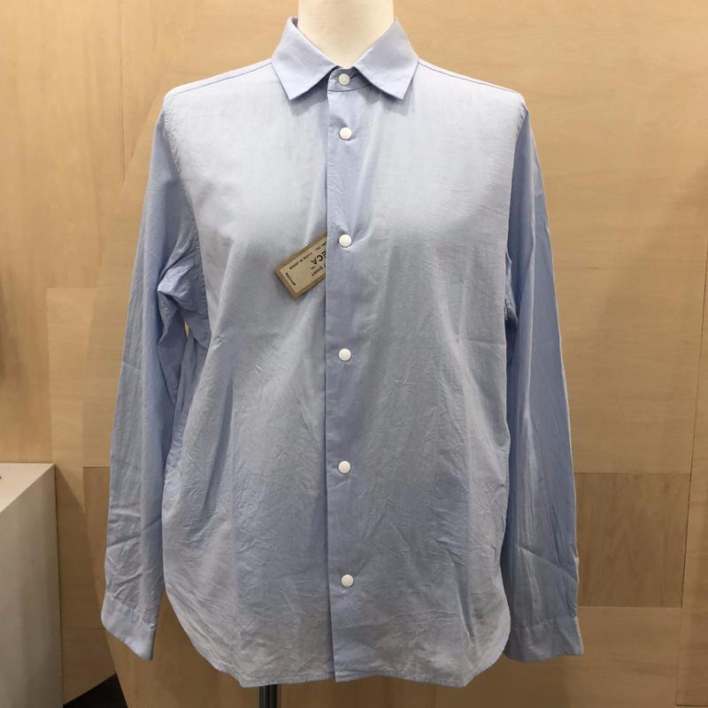 YAECA / 67152 / コンフォートシャツ リラックス (BLUE)
