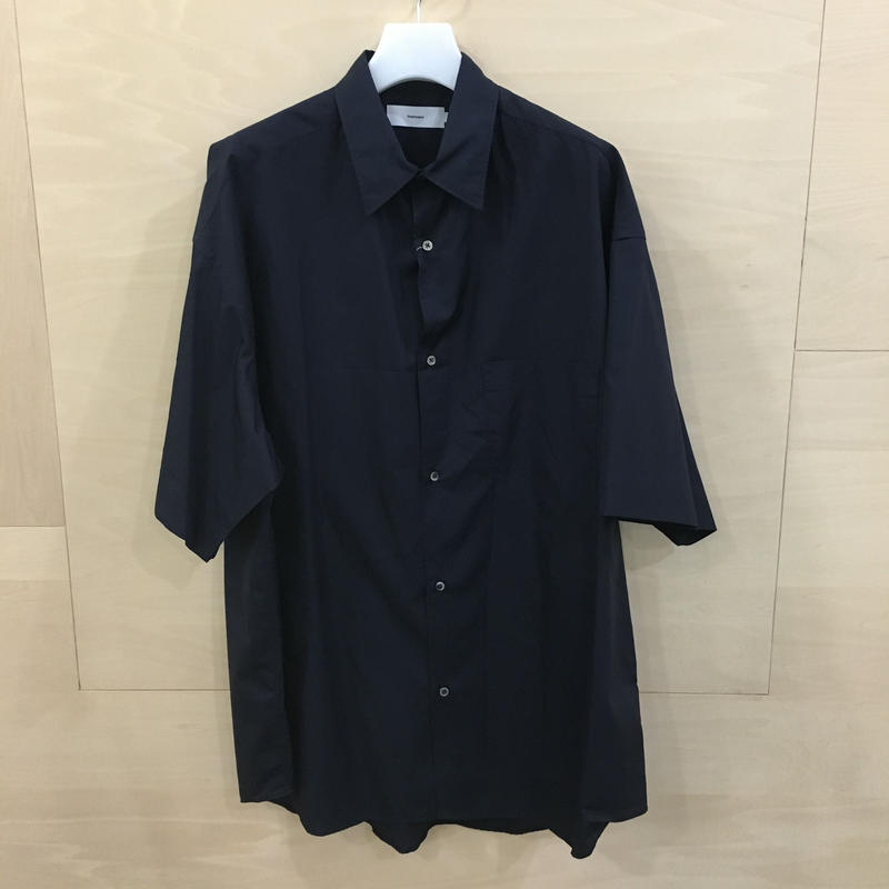 Graphpaper / GM192 50031 / Broad Oversized S/S Shirt (NAVY)