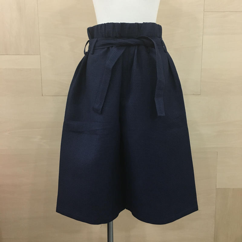 HOUSE OF THE VERY ISLAND'S / ワッフルハーフパンツ (NAVY)