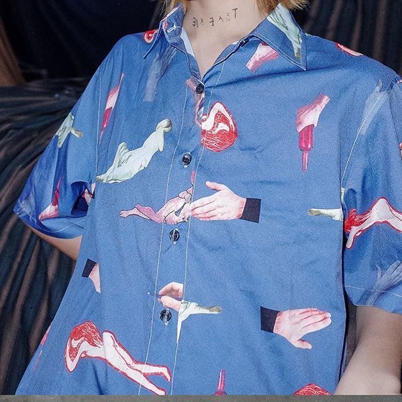 よく見るとなんかエッチなシャツ