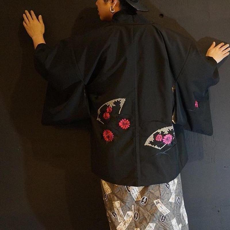 華刺繍羽織