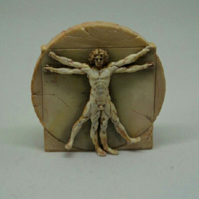 ダヴィンチブローチ-ウィトルウィウス的人体図