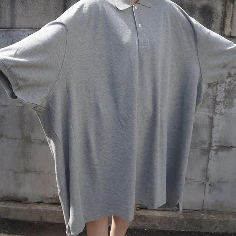 XXXXXXXXL半袖ポロシャツ(gray)