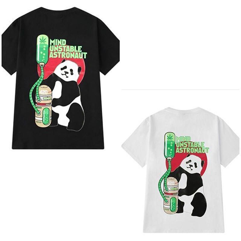 大麻熊猫tee