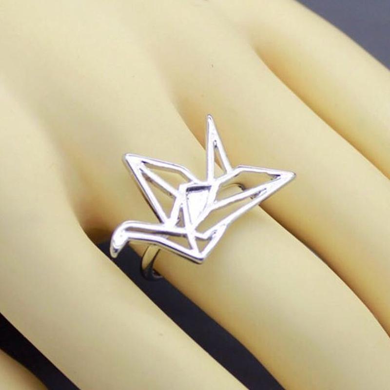 折形さんっぽいリング Silver