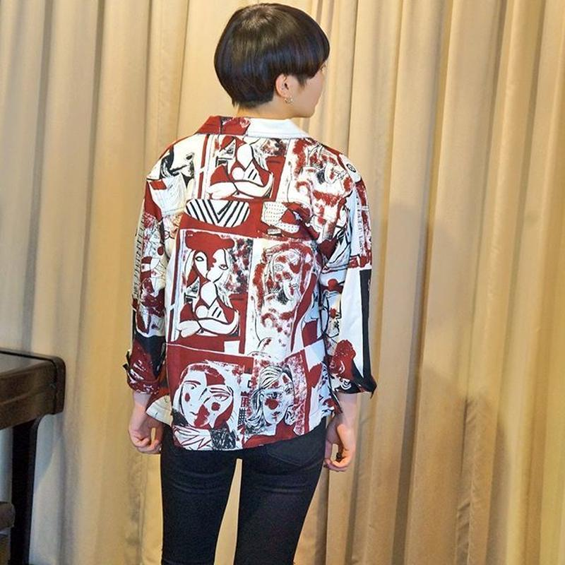 cotton Picasso jacket