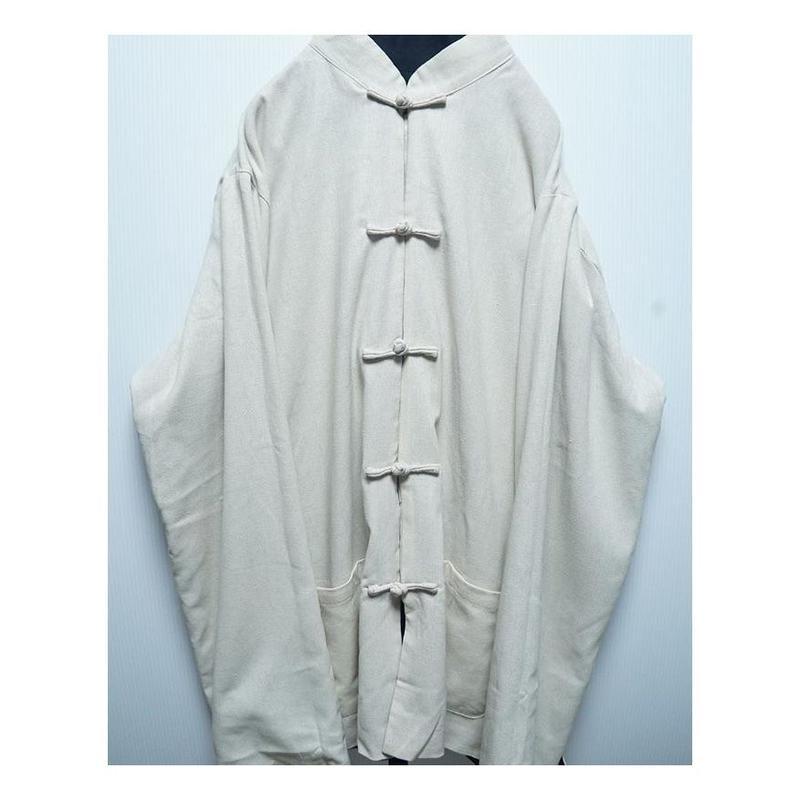 リバーシブルチャイナシャツ(WHITE×BLACK)
