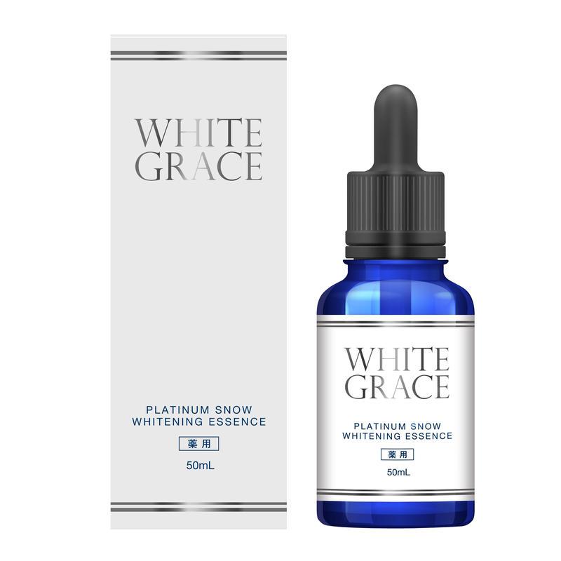 4407【単品購入/AmazonPay支払可能】まっさらな美白肌をつくる医療レベルの肌の漂白剤 医薬部外品 薬用美白美容液 WHITE GRACE