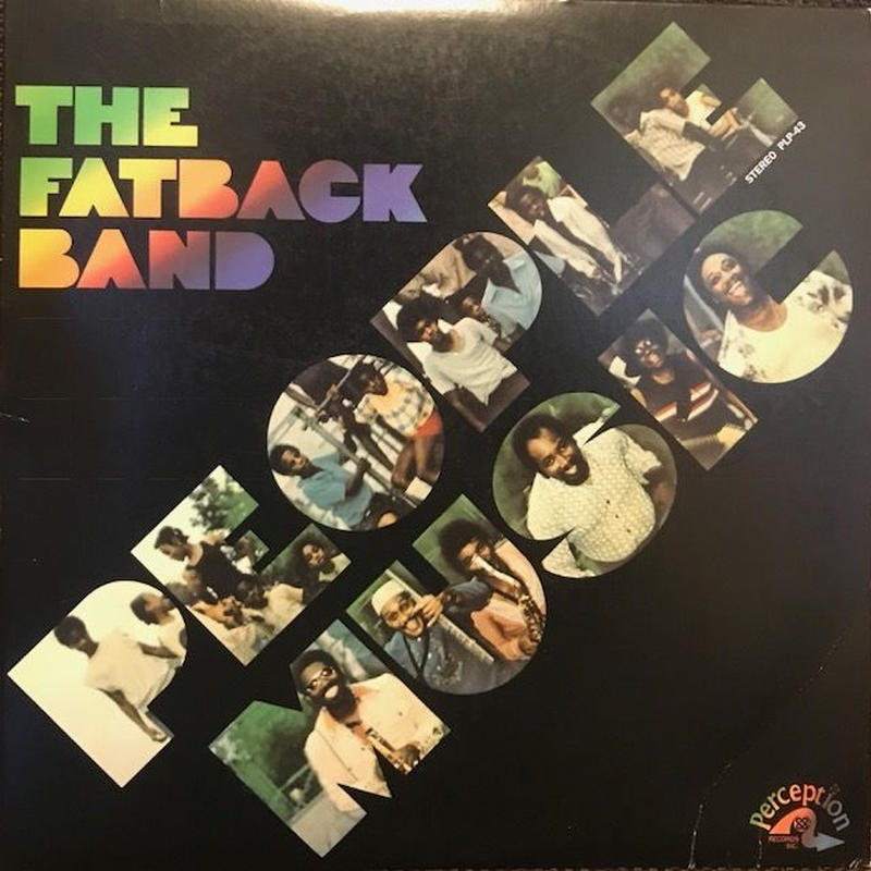 PEOPLE MUSIC THE  /  FATBACK BAND (LP) ★再発盤★