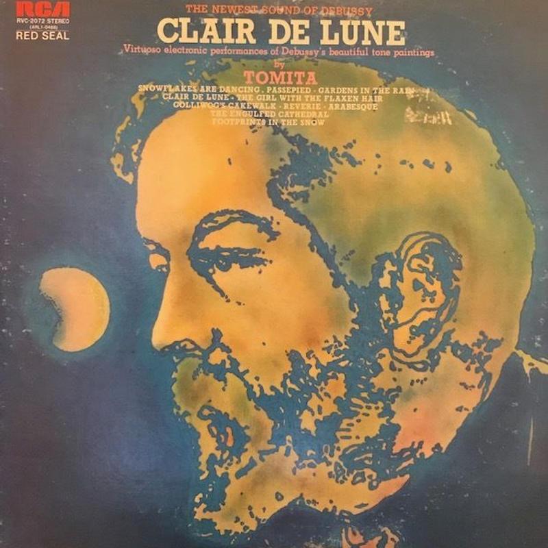 CLAIR DE LUNE  /  Isao Tomita (LP)
