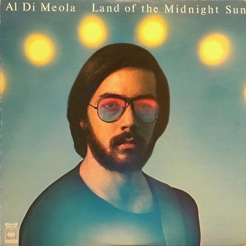 LAND OF THE MIDNIGHT SUN  /  AL DiMEOLA (LP)
