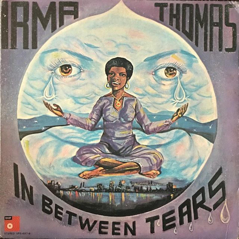 IN BETWEEN TEARS  /  IRMA THOMAS (LP)