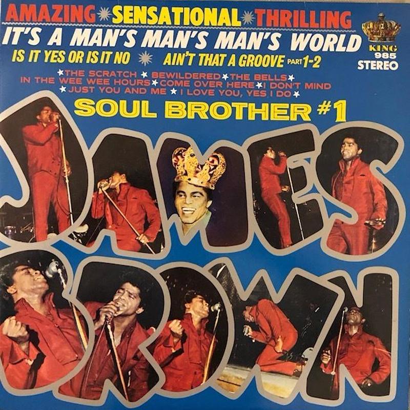 It's A Man's Man's Man's World  /  JAMES BROWN (LP)