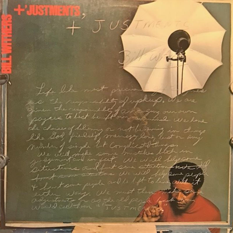 +'Justments  /  Bill Withers (LP)