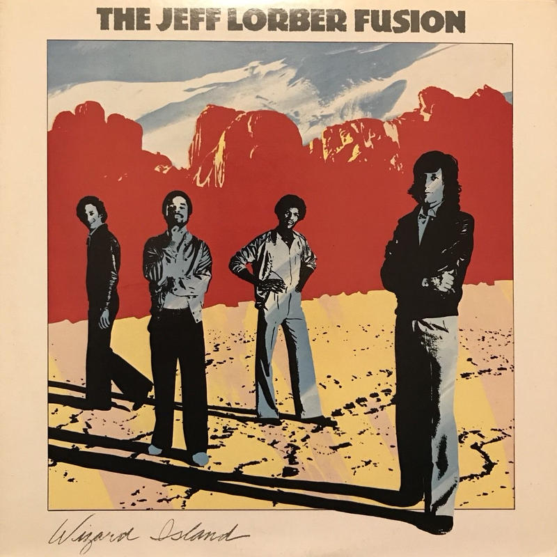WIZARD ISLAND  /  THE JEFF LORBER FUSION (LP)
