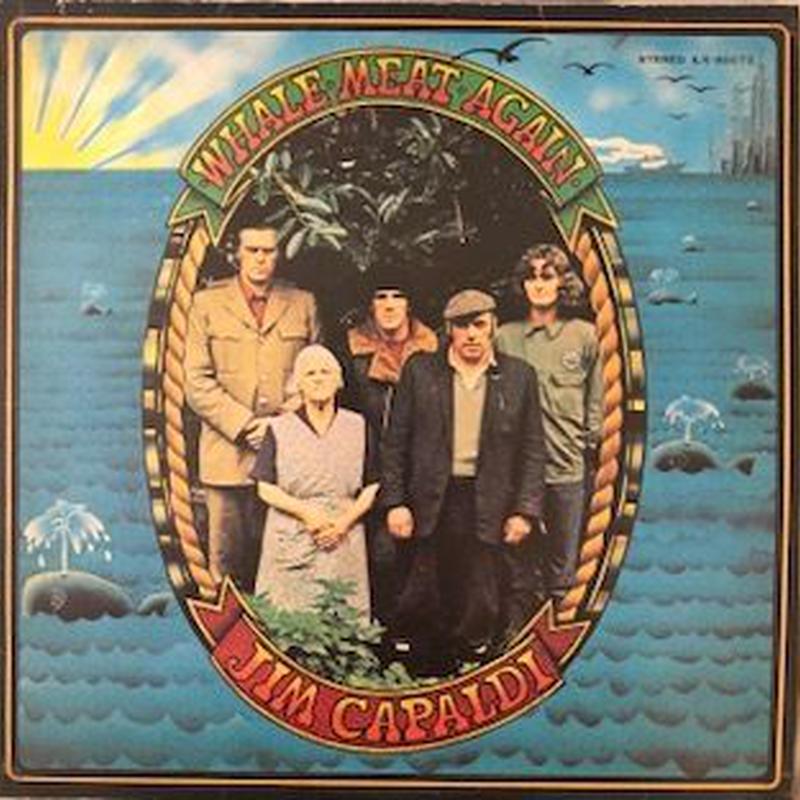 WHALE・MEAT・AGAIN / JIM CAPALDI (LP)