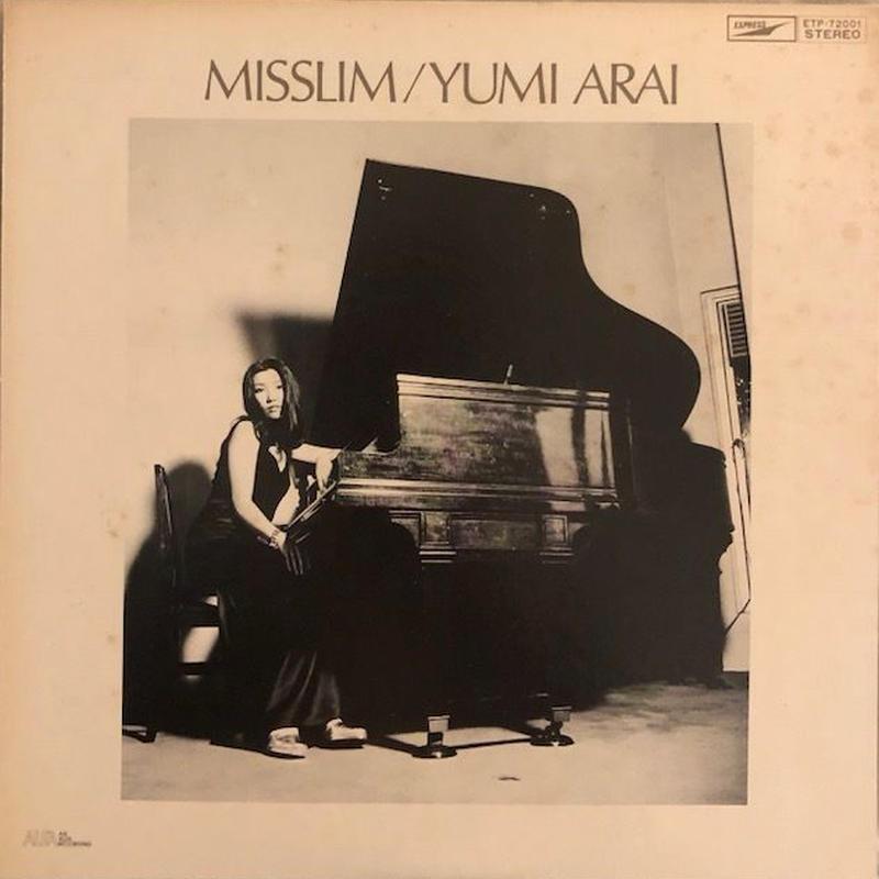 MISSLIM   /  荒井由実  (LP)