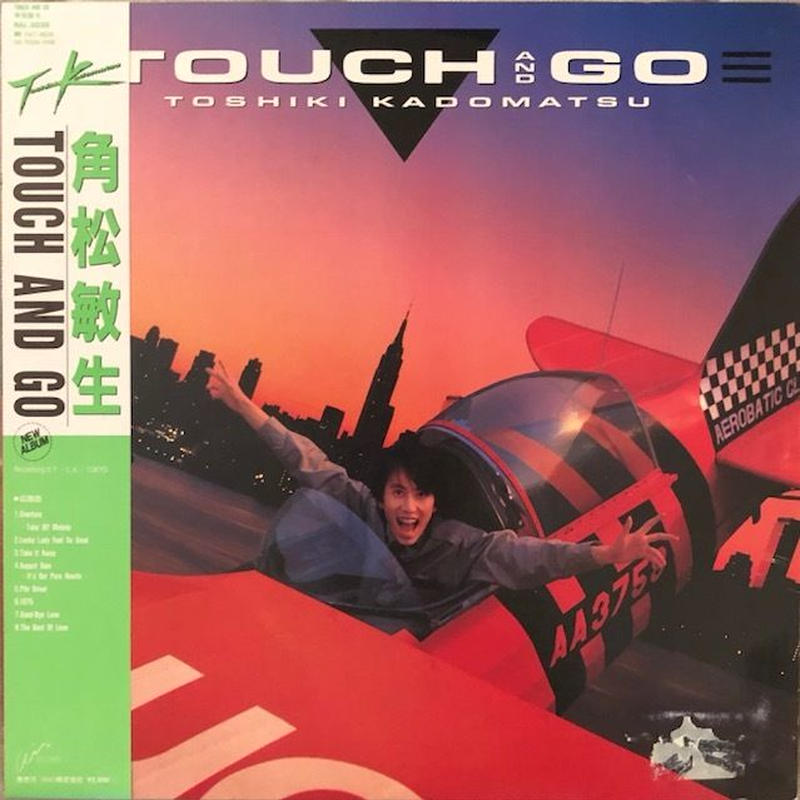 TOUCH AND GO  /  角松敏生  (LP)  ★帯あり★