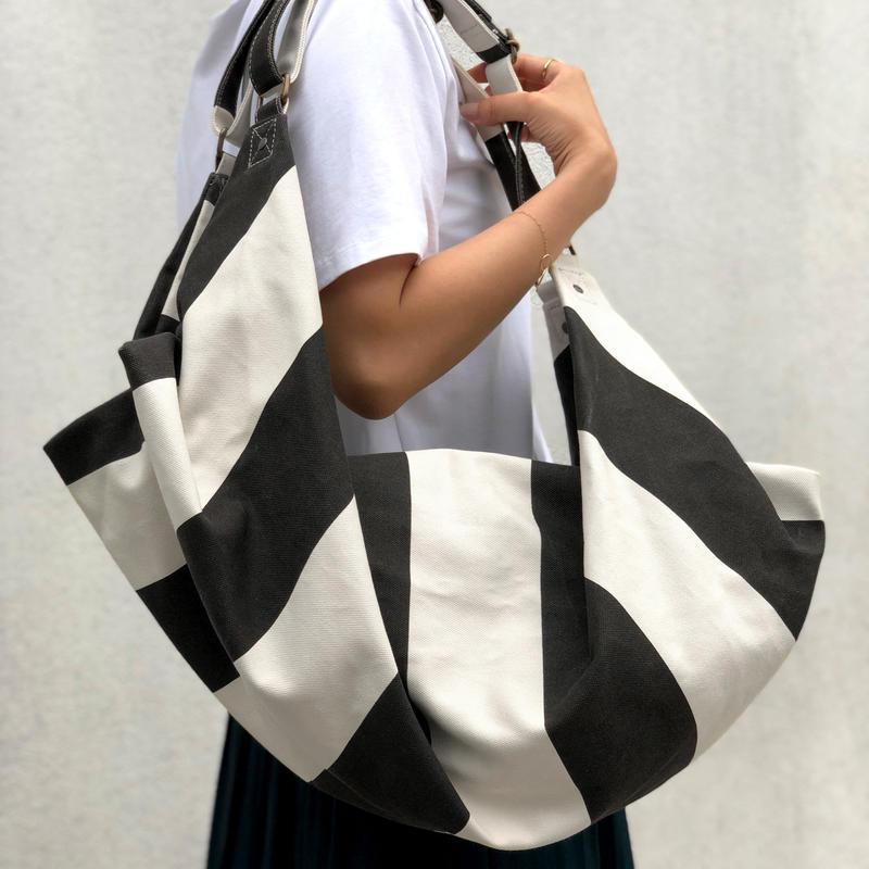 2 WAY BAG  Striped