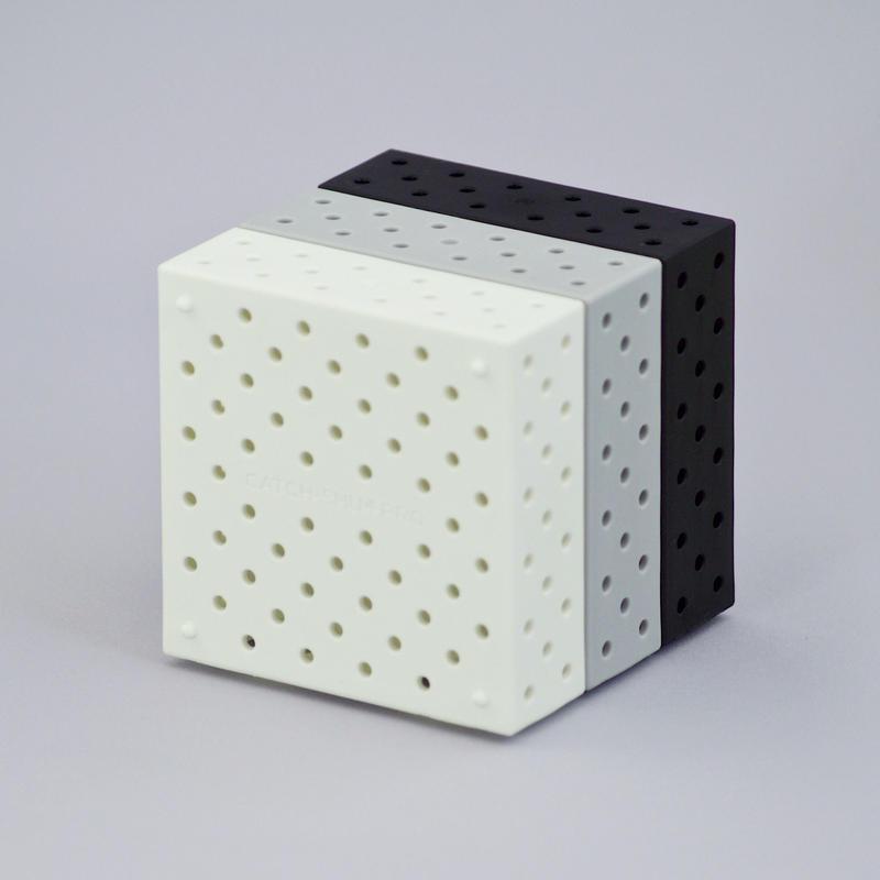 新色発売記念 キャッチシューPROスリム ホワイト×グレイ×ブラック 3個セット