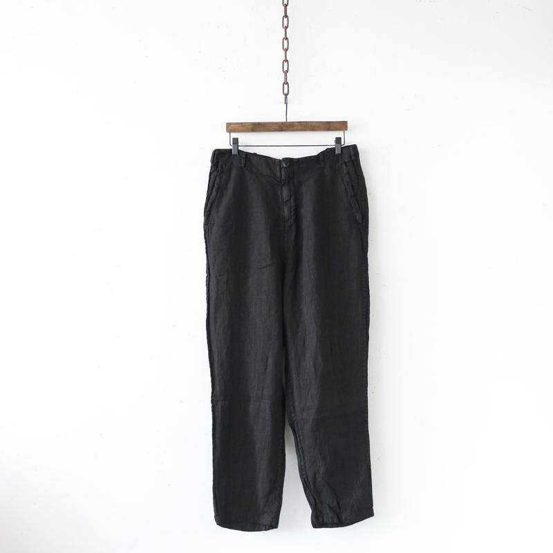 ALEKSANDR MANAMISアレクサンドルマナミス/ Worked straight pantsパンツ / am-19004