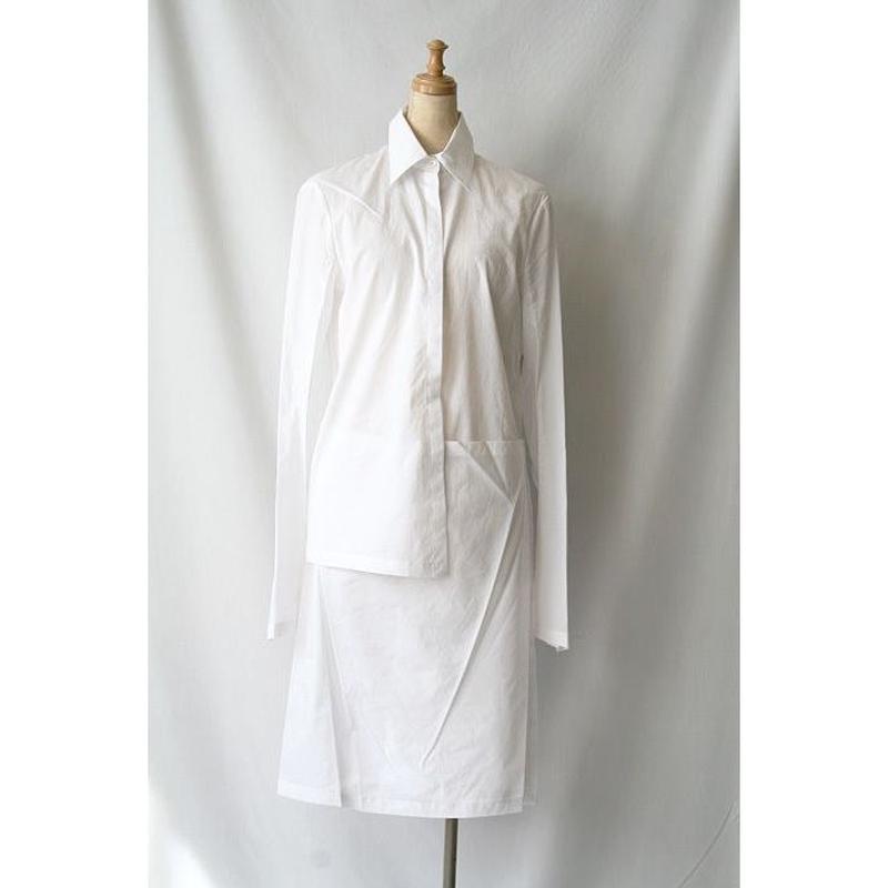 peachoo + krejeberg ピーチョー + クレイバーグ / long-shirtsロングデザインシャツ / pk-14002