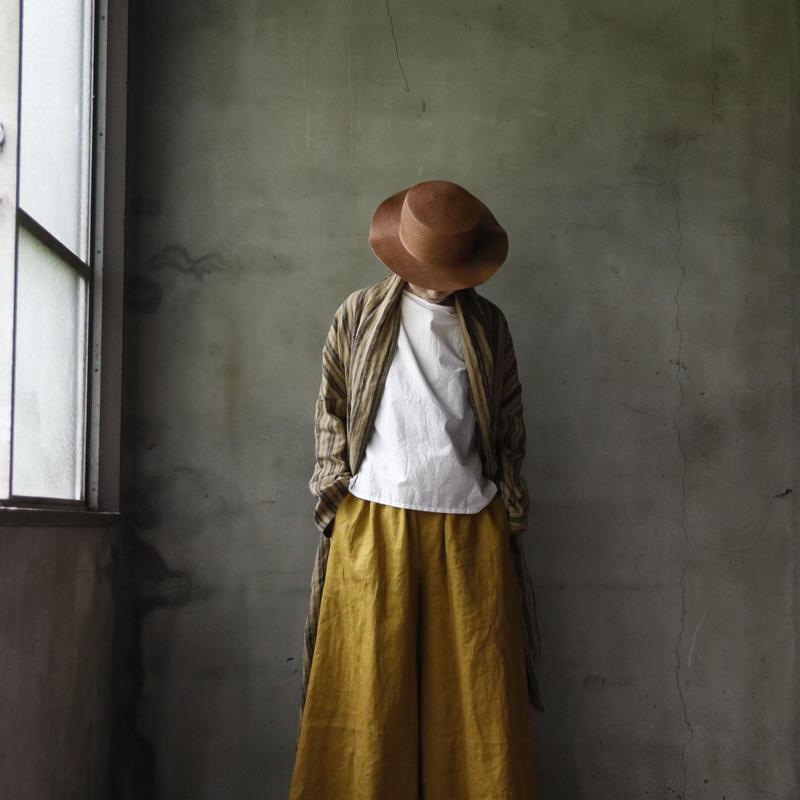 cavane キャヴァネ / Wide pantsワイドパンツ / ca-19064