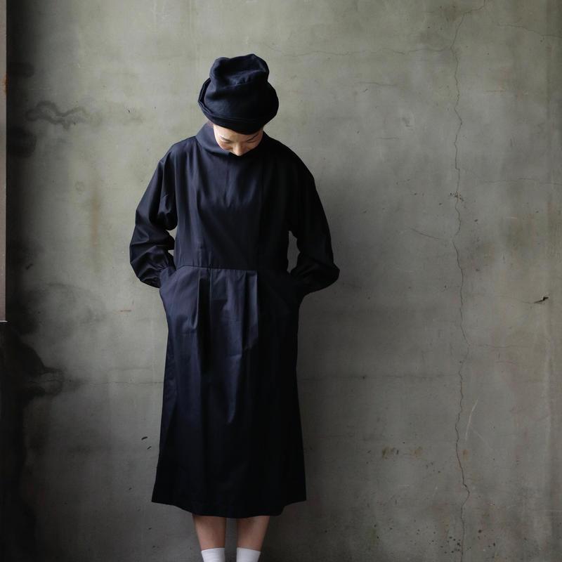 NATIVE VILLAGE ネイティブヴィレッジ / Spade ♤♠ Standing collar dressスタンドワンピース/  na-18004