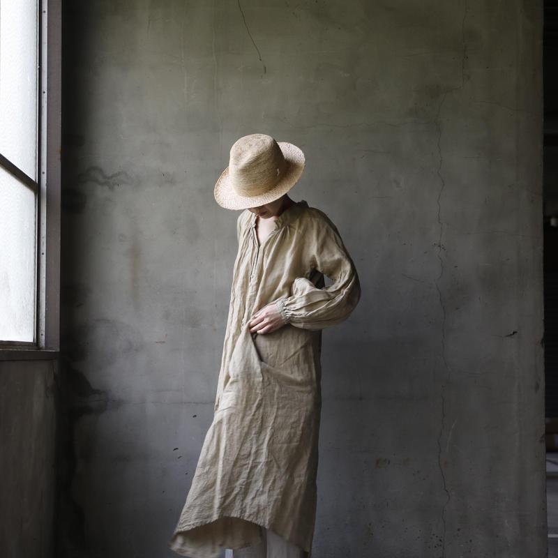 Tabrik タブリク /  gather robeギャザーローブ/ ta-19013