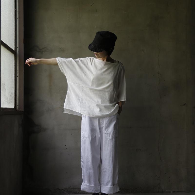 cavane キャヴァネ /   Box-blouseブラウス / ca-19065