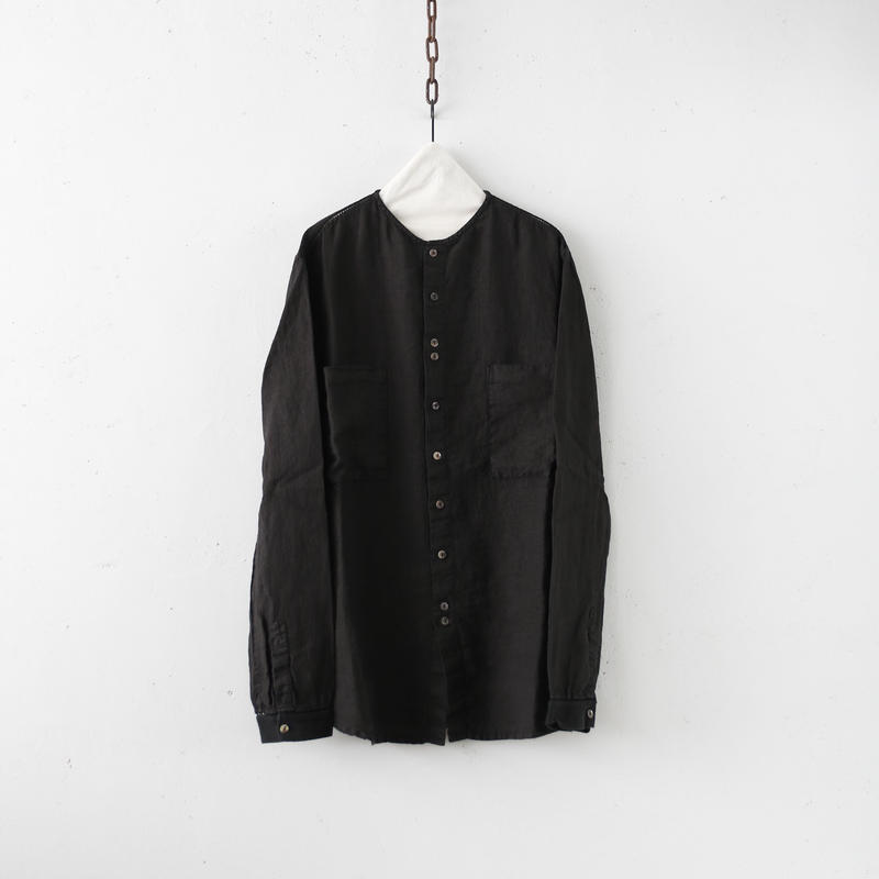 MAVRANYMA  / Linen work-shirtシャツ / Mav-19002