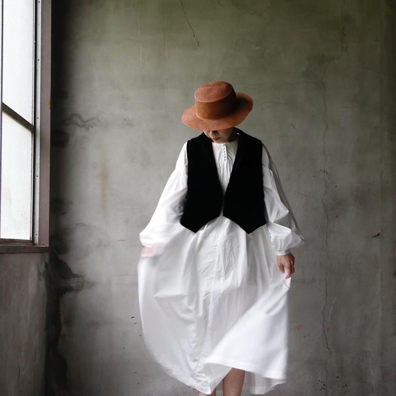 cavane キャヴァネ /  Front gather dressギャザードレス / ca-19052