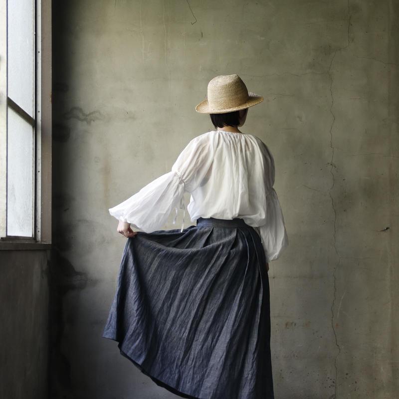 cavane キャヴァネ / Tuck-skirtスカート / ca-19063